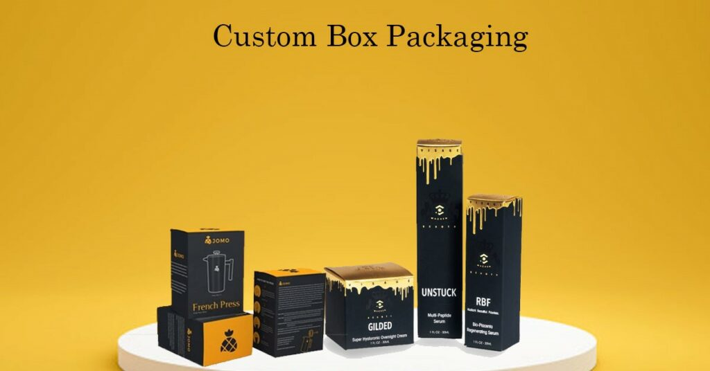 custom packaging for medical products