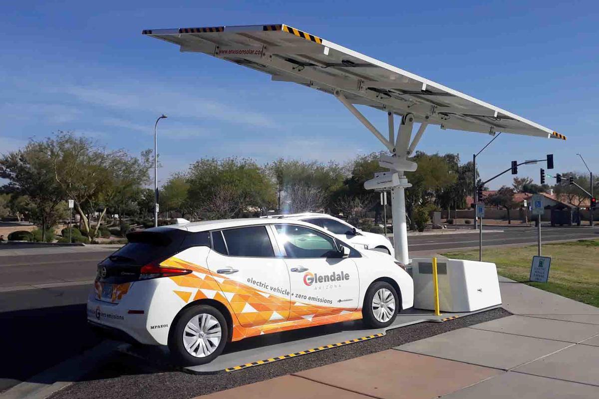 solar-powered EVs
